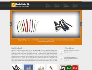 capcabindia.com screenshot