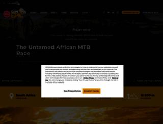 cape-epic.com screenshot