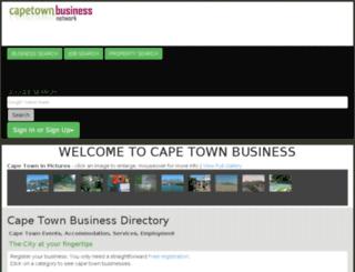 cape-town-business.co.za screenshot