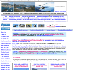cape-town-helicopter-tours.com screenshot