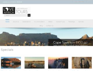 capediversitytours.com screenshot