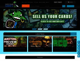 capefeargames.com screenshot