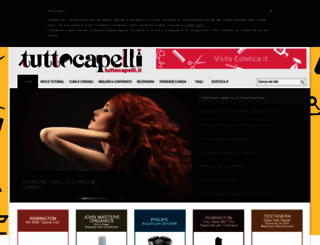 capelli.estetica.it screenshot