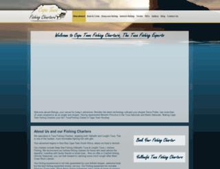 capetownfishingcharters.com screenshot