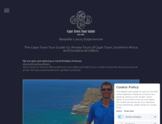 capetowntourguide.com screenshot