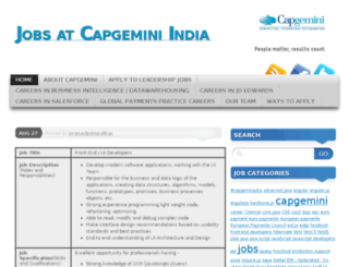 capgeminijobs.wordpress.com screenshot