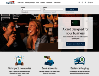 capitalone.com screenshot