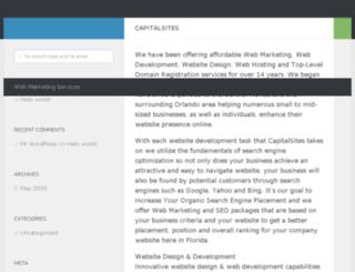 capitalsites.com screenshot