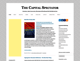 capitalspectator.com screenshot
