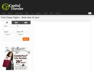 capitaltraveler.com screenshot