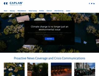 caplancommunications.com screenshot