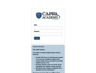 cappa.digitalchalk.com screenshot