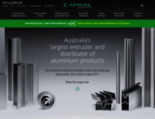 capral.com.au screenshot