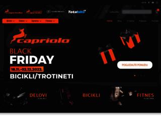 capriolo.com screenshot
