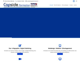 capside-formation.fr screenshot
