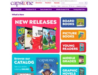 capstoneyoungreaders.com screenshot