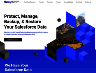 capstorm.com screenshot