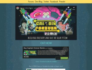 captainforeverremix.com screenshot