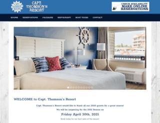 captthomsons.com screenshot