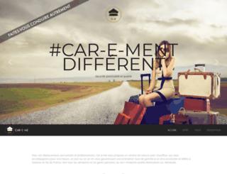 car-e-me.fr screenshot
