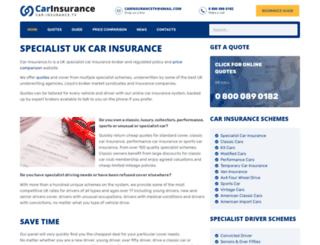 car-insurance.tv screenshot