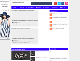 car-manual-pdf.blogspot.com screenshot