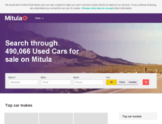 car.mitula.com.au screenshot