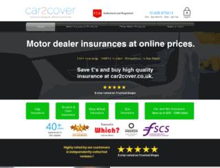 car2cover.co.uk screenshot
