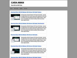 cara-awan.blogspot.com screenshot