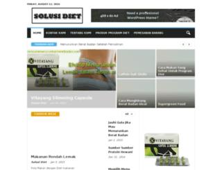 caracaramenurunkanberatbadan.com screenshot