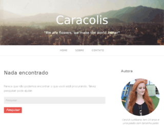 caracolis.com screenshot