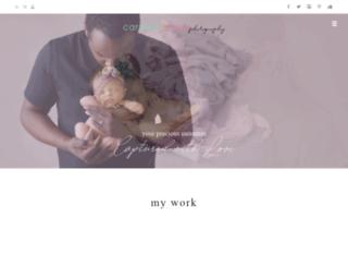 caraleecasephotography.com screenshot