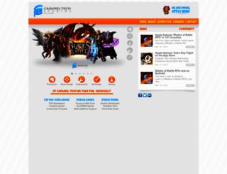 carameltechstudios.com screenshot