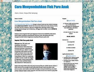 caramenyembuhkanflekparuanak.blogspot.com screenshot