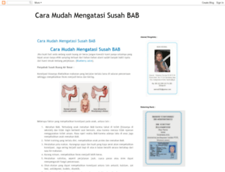 caramudahmengatasisusahbab.blogspot.com screenshot