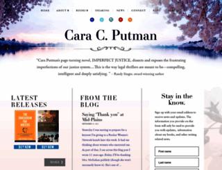 caraputman.com screenshot