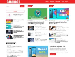cararoot.com screenshot