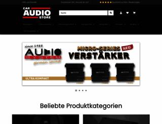 caraudio-store.de screenshot