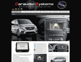 caraudio-systems.de screenshot