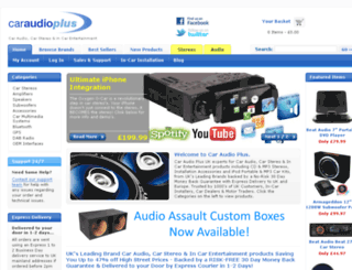 caraudioplus.co.uk screenshot