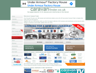 caravanfinder.co.uk screenshot