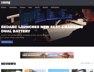 caravanworld.com.au screenshot