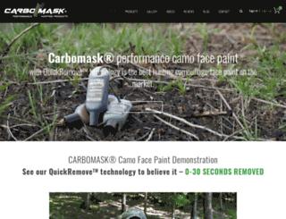 carbomask.com screenshot