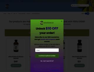 carbon60oliveoil.com screenshot
