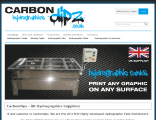 carbondipz.co.uk screenshot