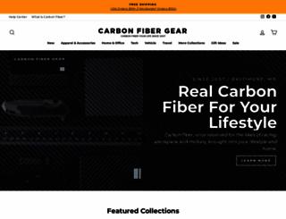 carbonfibergear.com screenshot