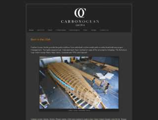 carbonoceanyachts.com screenshot