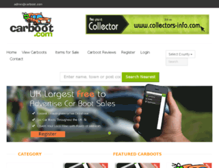 carboot.com screenshot