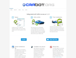 carbot.org screenshot