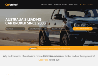 carbroker.com.au screenshot